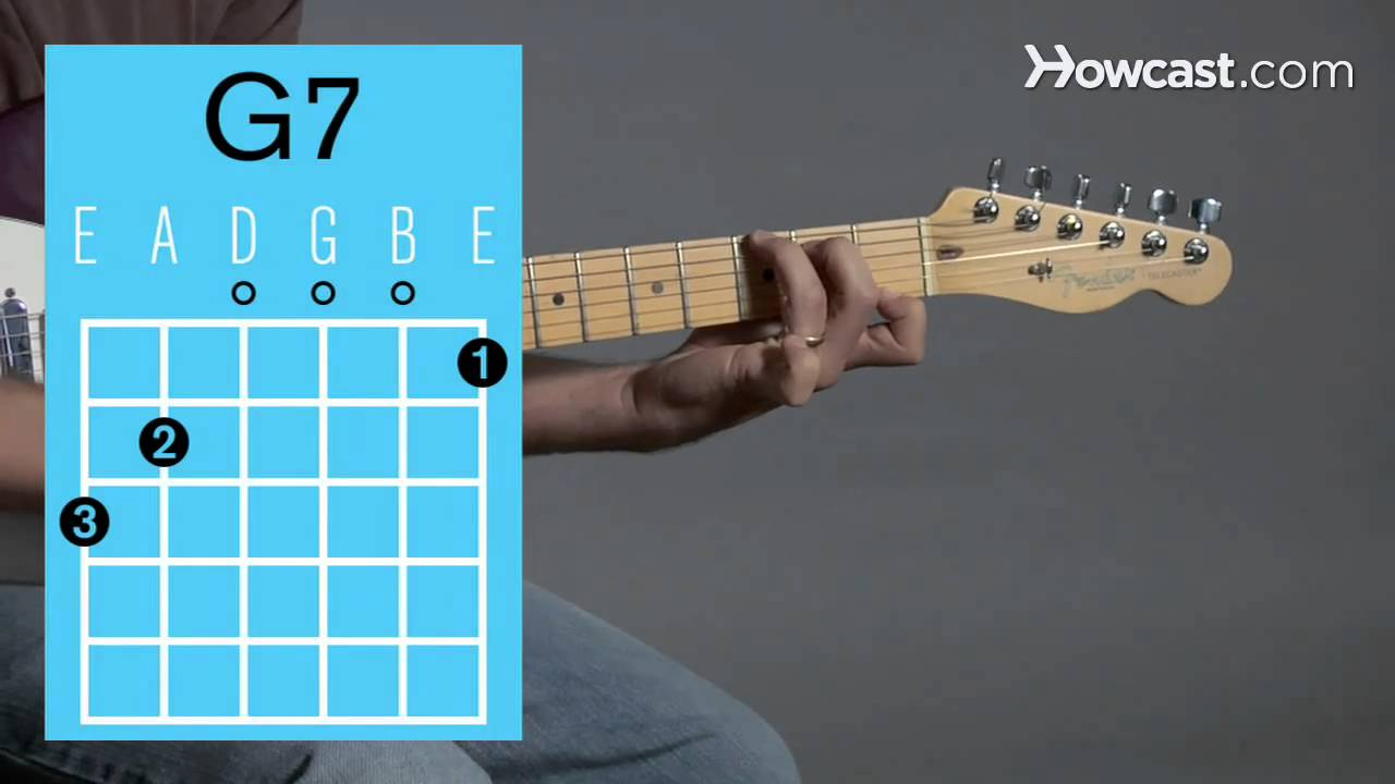 How To Play A G7 Open Chord Guitar Lessons Youtube