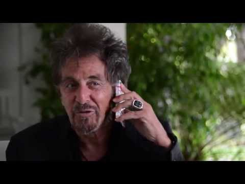Al Pacino at his home  Full