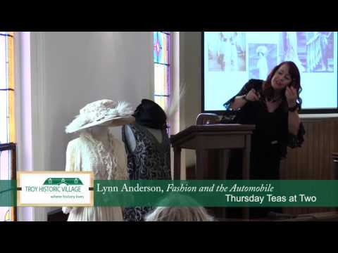 Lecture - Fashion and the Automobile