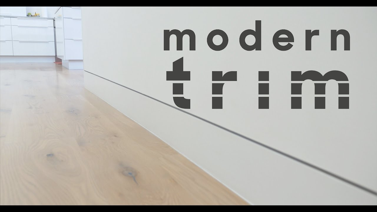 Modern trim youtube - Contemporary trim moulding ...