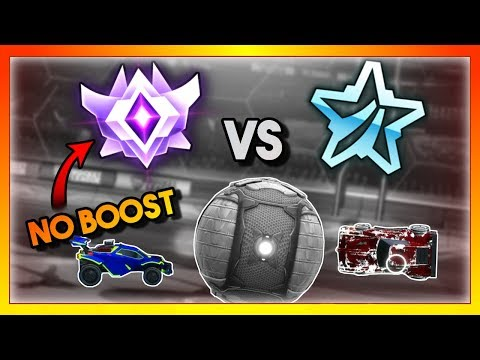 Grand Champion With NO BOOST vs a Platinum...