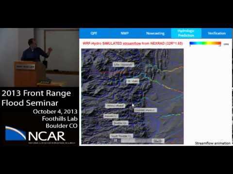 Great Front Range Flood of 2013 - NCAR STEP Program - Research Seminar