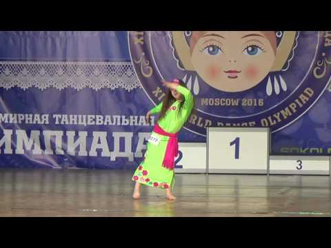 Коростина Кристина беби Фолк 1/4 Кубок России ХIII - ВТО 2016