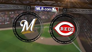 9/25/14: Holmberg helps Reds eliminate Brewers