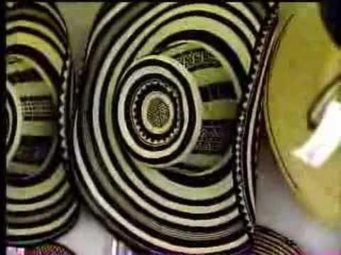 Como se hace un Sombrero Vueltiao - YouTube 026b3508442