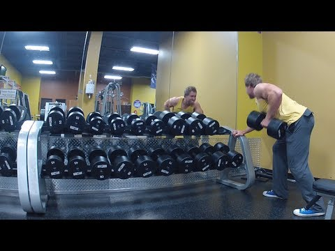BACK AND CALVES TEST WORKOUT VIDEO COMMENTARY | Furious Pete Talks
