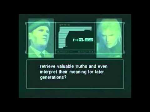 NSA PRISM program - Metal Gear Solid 2