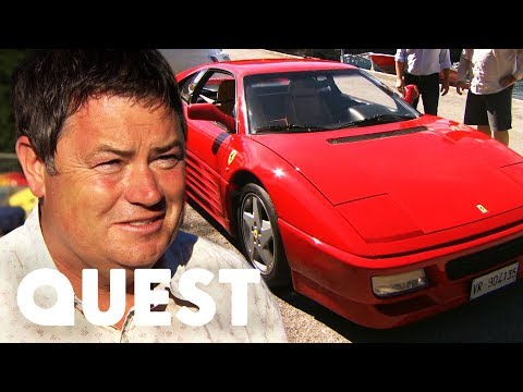 Wheeler Dealers: Trading Up   Desperately Bidding For A Fantastic Ferrari!