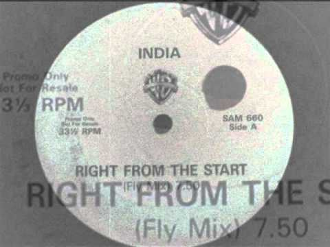India - Right From The Start (Fly Mix) 1989