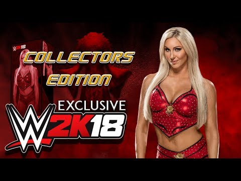 WWE 2K18: Charlotte 'Do it with Flair' Collectors Edition [Concept]