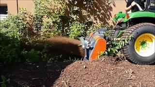 PTH Micro Crusher Mini Steinfräse und Forstmulcher für Kleintraktoren