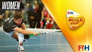 Netherlands v USA - Indoor Hockey World Cup - Women\'s Pool A