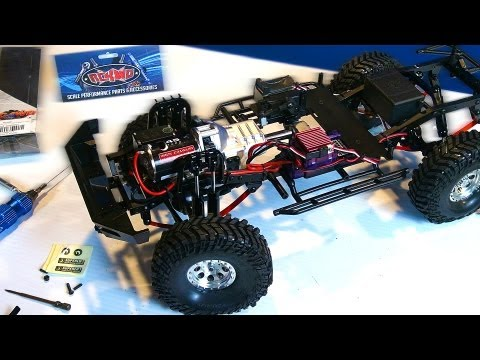 RC ADVENTURES - RC4WD Trail Finder 2 - Toyota Hilux Scale Trail 4x4 Truck Upgrade Video PT 2