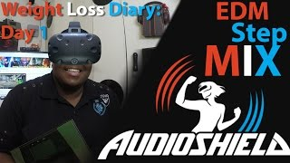 Virtual Reality Weight Loss Exercise CHALLENGE Day 1 Live Stream