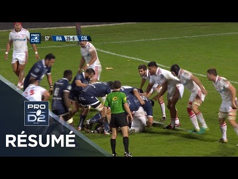 PRO D2 - Résumé Biarritz-Colomiers: 36-13 - J11 - Saison 2017/2018