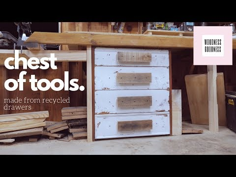 DIY Chest of Tools (Drawers)
