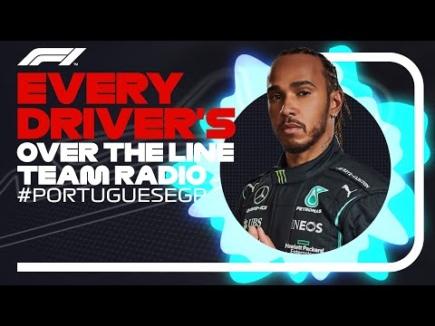Every Driver's Radio At The End Of Their Race | 2021 Portuguese Grand Prix