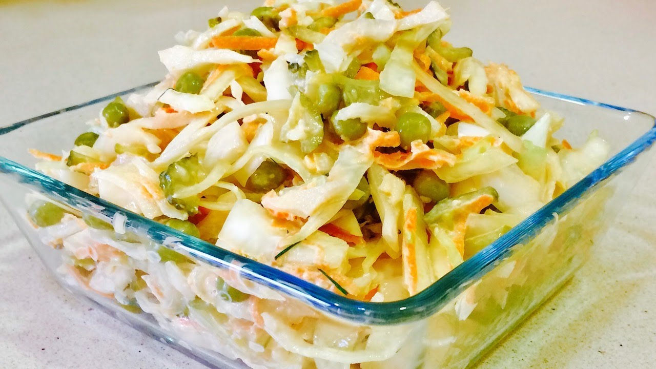 Самый вкусный салат из репы