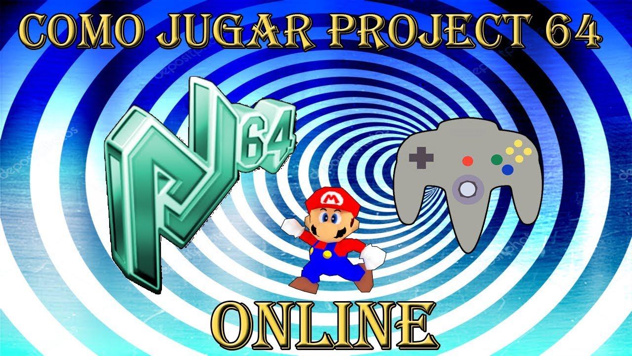 Como Jugar Online Emulador de Nintendo 64 l Project64K l (Kaillera) l 2018