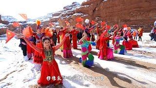 新疆阿克苏:我爱你中国「快闪」