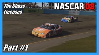 (License Challenges!) NASCAR 08 The Chase (Xbox 360) Part #1