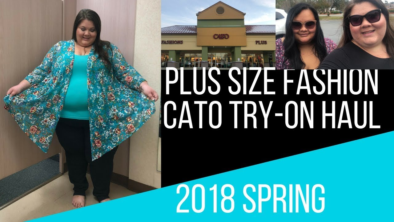 Spring 2018 Cato fashion plus size try on haul