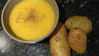 Potatoes Cream Soup Tasty And Delicious Vegan Recipe