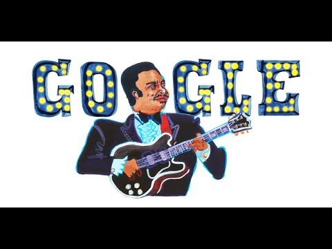 Google celebrates birthday of the 'King of the Blues' with an animated video Doodle
