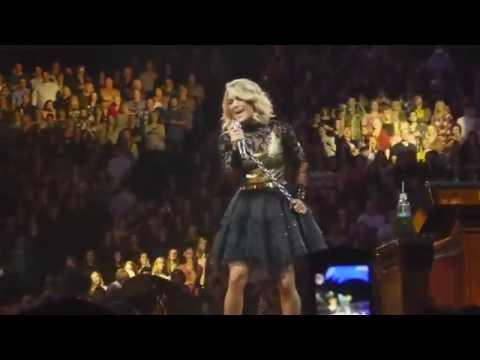"""Carrie Underwood """"Last Name/Somethin' Bad"""" Storyteller Tour 10-17-16 St Paul Xcel"""