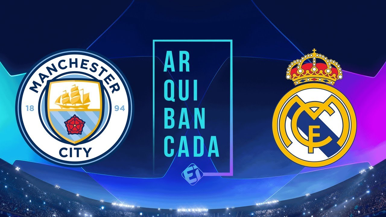 MANCHESTER CITY X REAL MADRID (NARRAÇÃO AO VIVO) - CHAMPIONS LEAGUE - OITAVAS DE FINAL