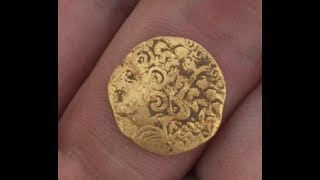 2000 year old GOLD coin found metal detecting double Gold day