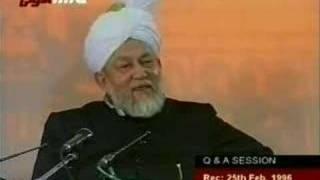 Ahmadiyya - Q/A Session 25/02/1996 11/11