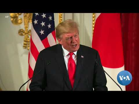 Trump: Japan-Mediated Iran Talks 'Would Be Fine'