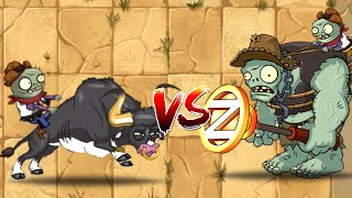Plants vs Zombies 2 New Wild West 26 35 Wipeout and Rodeo Legend vs Gargantuar PVZ 2
