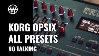 Korg Opsix - All Presets (No Talking) | Thomann