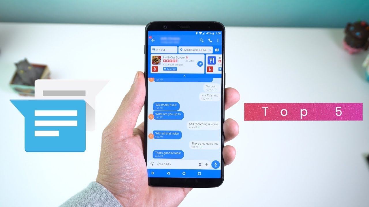 Top 5 FREE Messaging Apps for Android