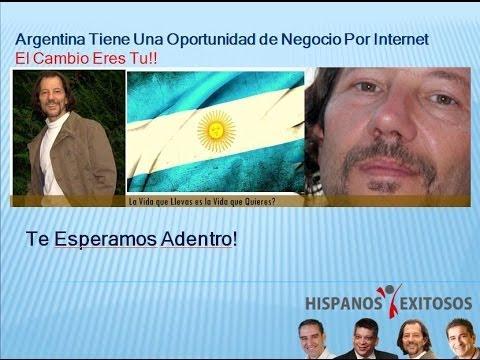 Argentina Tiene Una Oportunidad de Negocio Por Internet