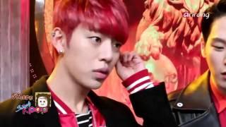 151120 b a p cut backstage at simply kpop arirang tv
