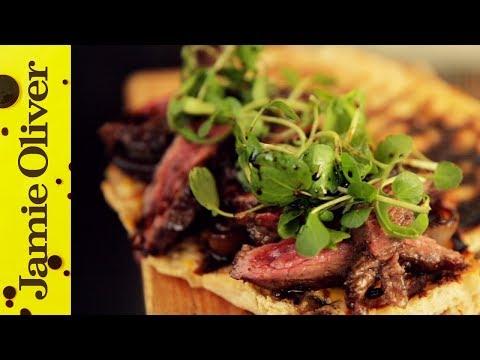 Next Level Steak Sarnie   Food Busker