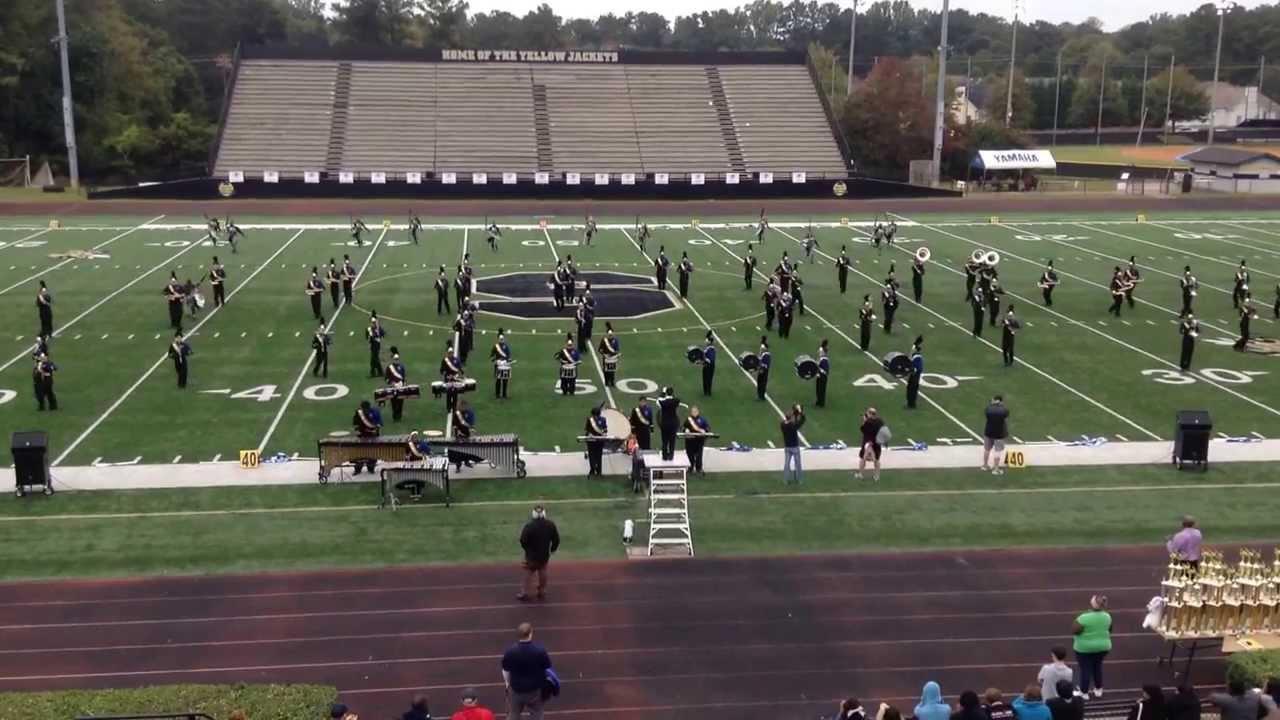 Douglas County High School Marching Band, Douglasville, Georgia - October 19, 2013