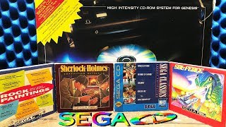 Sega CD Pack-In Launch Games - Games That Never Received a Standalone Release.