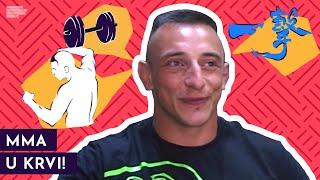 Dušan Džakić: Od dečaka koga su svi tukli do MMA borca | Mondo TV