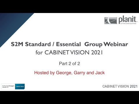CV2021 Group Webinar - S2M Standard and Essential - Part 2 of 2