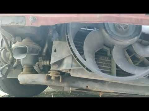 Замена радиатора и осушителя на Opel Vectra B