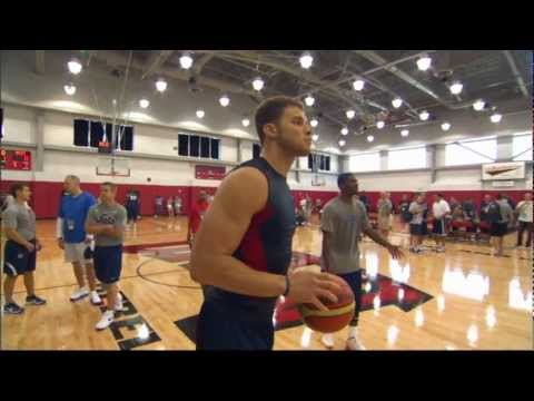 Blake Griffin's Insane DUNKS at USA Basketball practice