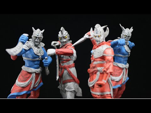 MSJ Ultraman Zero & Ultraman Ace Review!