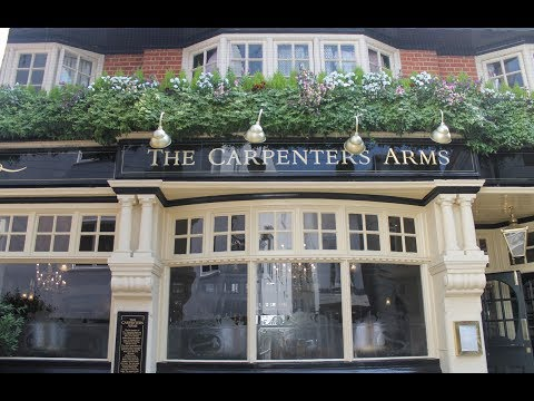 Lunch at The Carpenters Arms - Windsor, England
