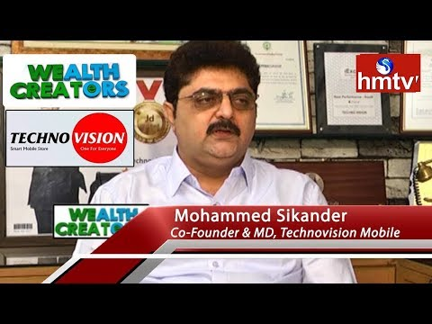 Technovision Mobile Co-Founder Mohammed Sikander Special Interview | Wealth Creators  hmtv News