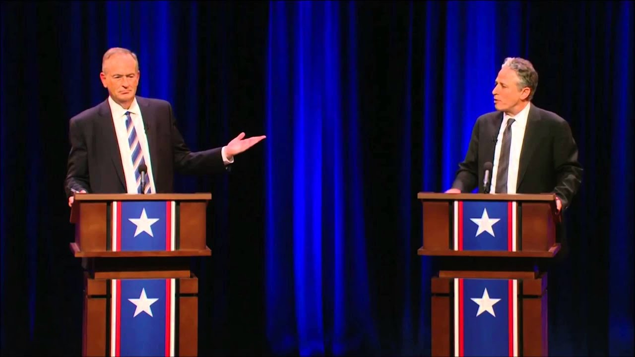 War On Christmas - Jon Stewart vs. Bill O\'Reilly The Rumble - YouTube