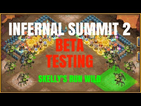 INFERNAL SUMMIT 2 - BETA TESTING - CASTLE CLASH